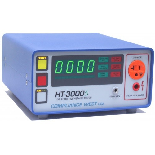 Compliance West HT-3000S AC/DC Hipot Tester/Ground Continuity