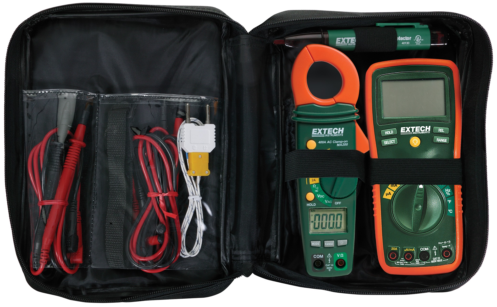 Extech Cb10 Ac Circuit Breaker Finder Receptacle Tester Finders Tk430 Electrical Test Kit