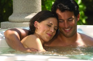 Cal Spas hot tub intimacy and romance