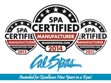 The TradeCertified Award, from SpaRetailer magazine was initiated in 2006 and is the only trade endorsement program that identifies the top tier of manufacturers in the hot tub and pool industry.