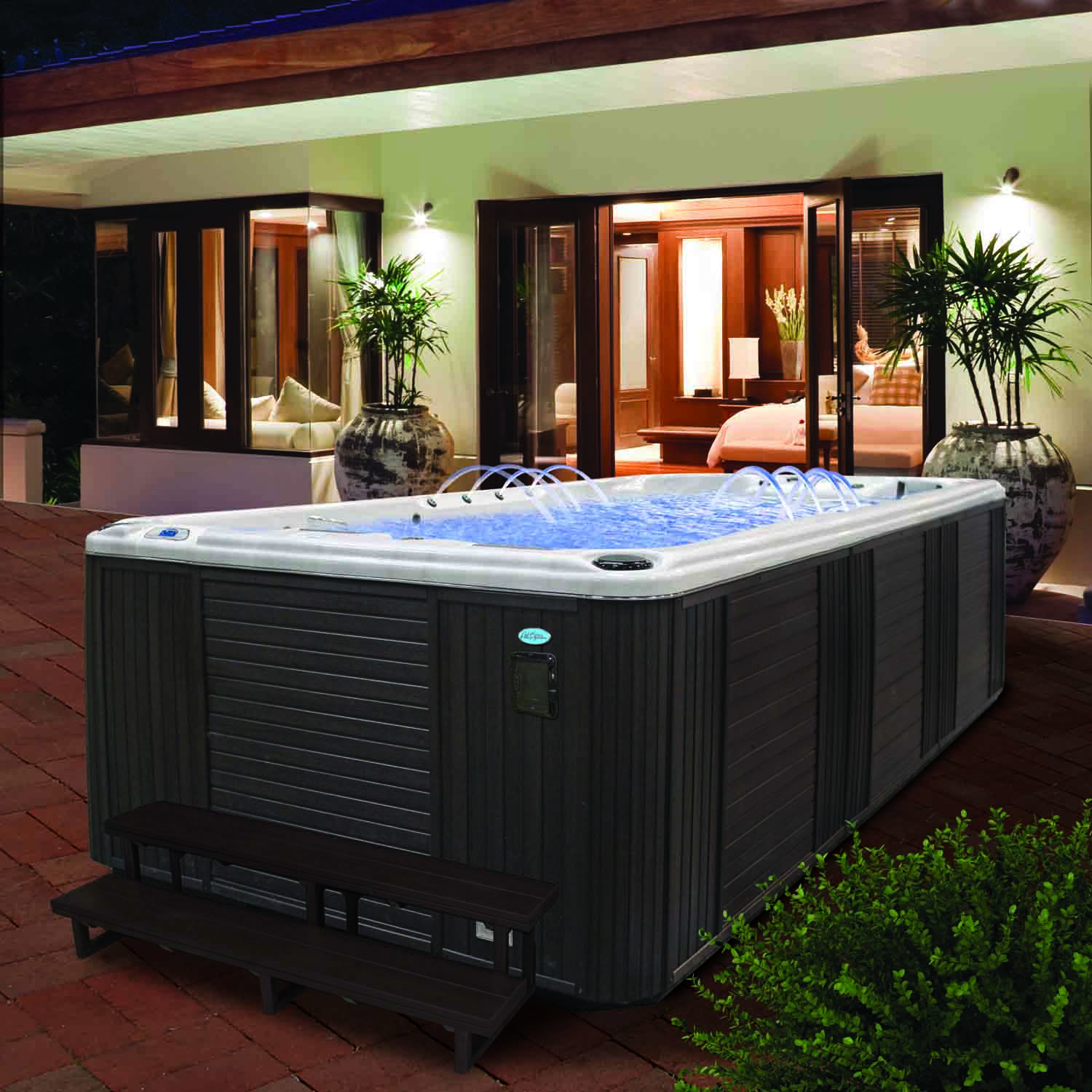 Cal spas blog tag swim spas cal spas - American swimming pool and spa association ...