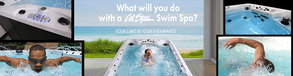 What will you do with a Cal Spas Swim Spa?