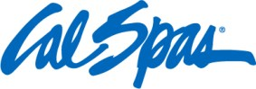 This image has an empty alt attribute; its file name is Cal-Spas-Logo-PMS-2935Cc.jpg