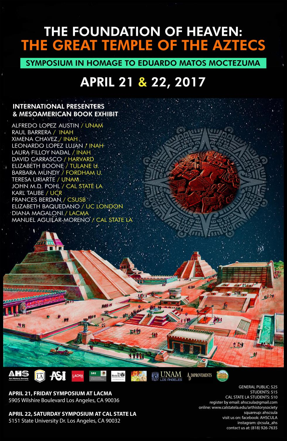 The foundation of heaven the great temple of the aztecs the art this mesoamerican symposium in homage to eduardo matos moctezuma organized by the art history society of california state university los angeles and los sciox Image collections
