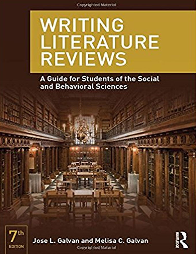 "Book cover for ""Writing Literature Reviews"""