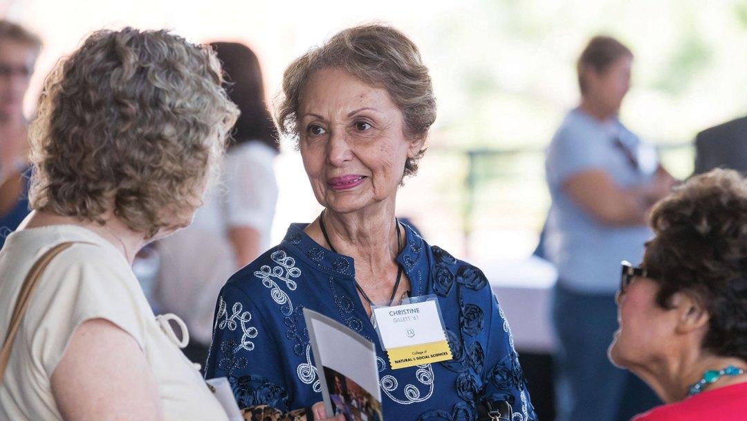 Alumni attend Cal State LA's 70th anniversary reunion.