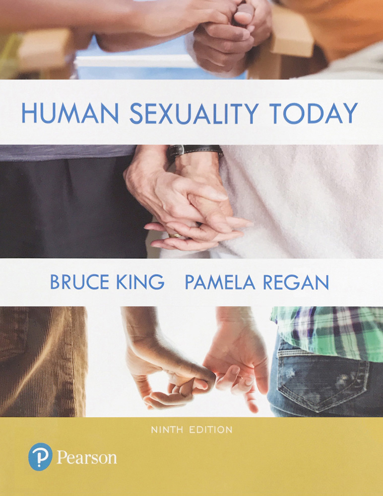 "Book cover for ""Human Sexuality Today"""
