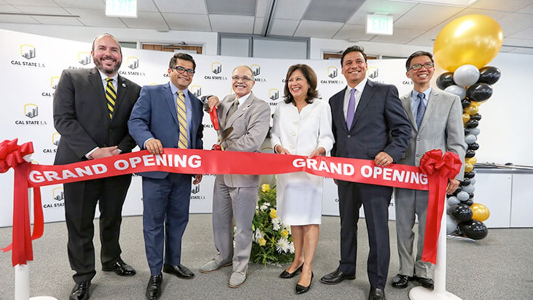 Cal State LA DTLA grand opening and ribbon cutting