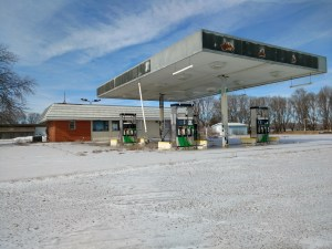 Abandoned Gas Station Property Reviewed During Phase 1 Environmental