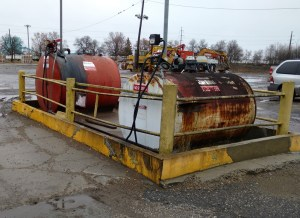 Phase I Environmental Inspection Finds Leaking Tanks And Pumps In Refueling Area