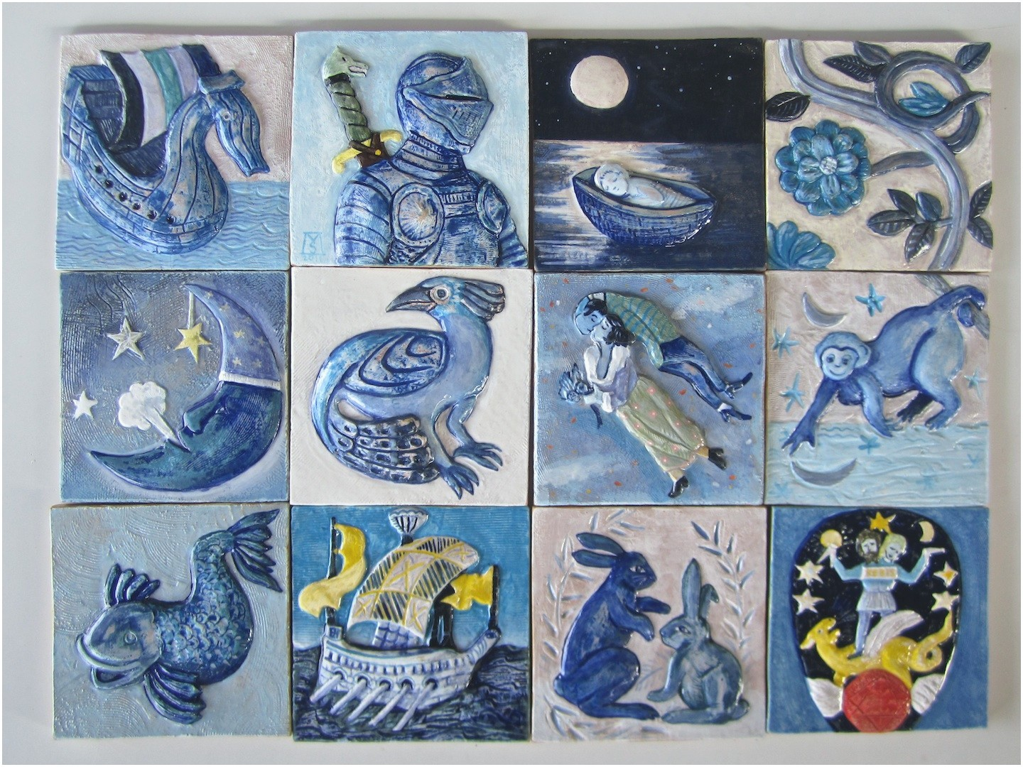Arts And Crafts Ceramic Tiles