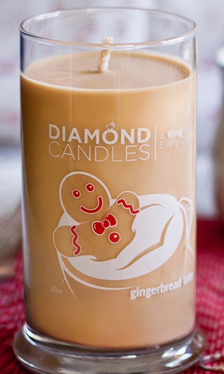 Candle With A Ring Inside