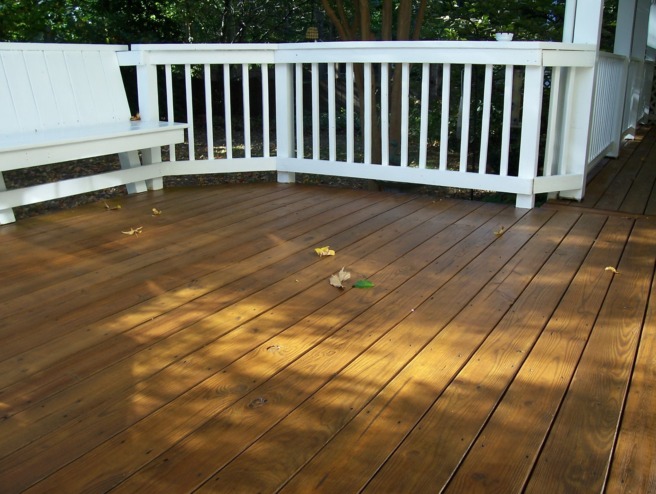 Deck Stain Dry Time