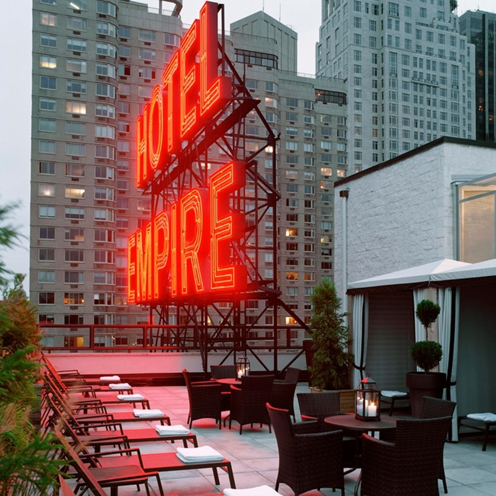 Empire Hotel Rooftop Nyc