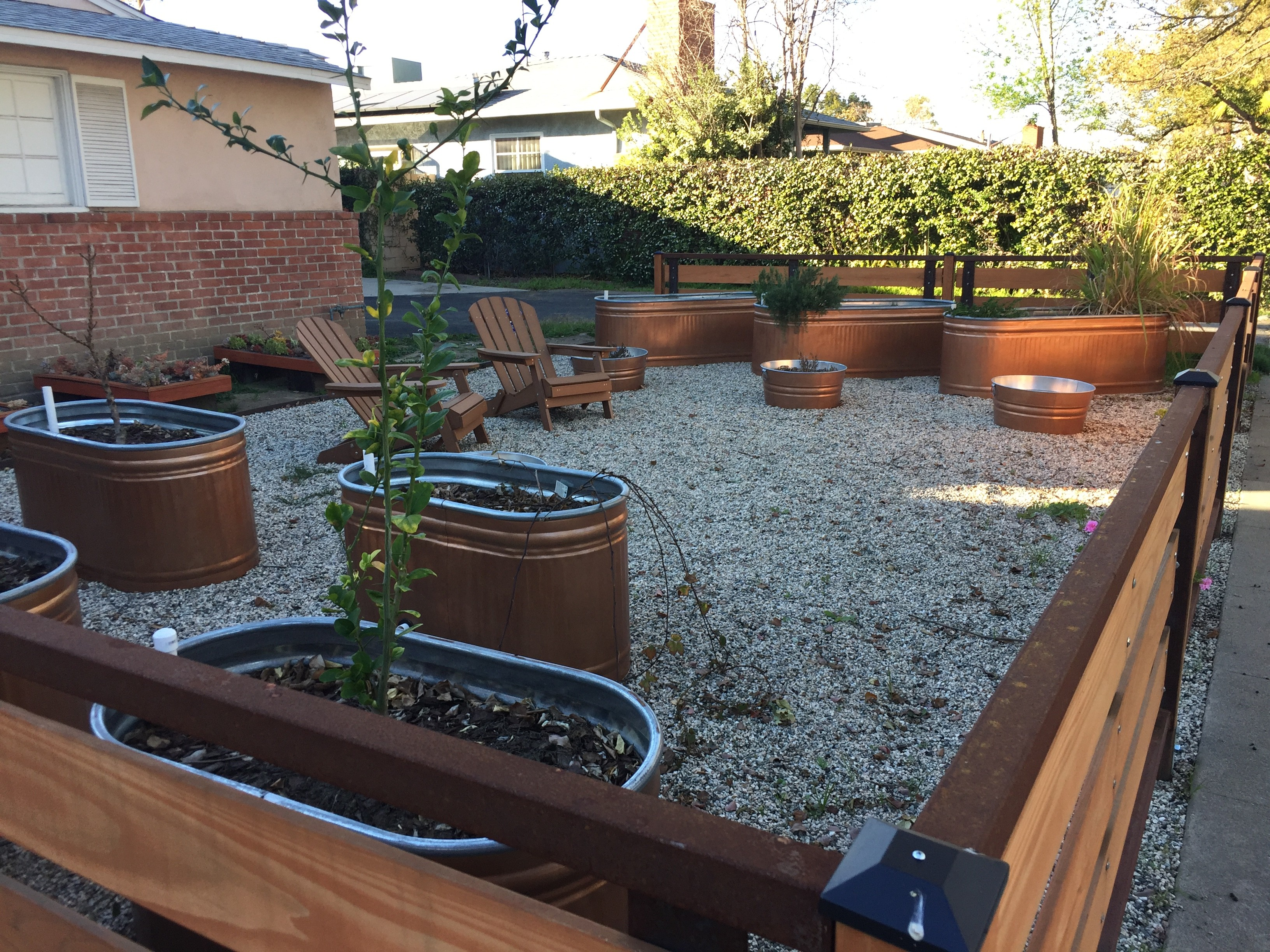 Galvanized Containers For Gardening
