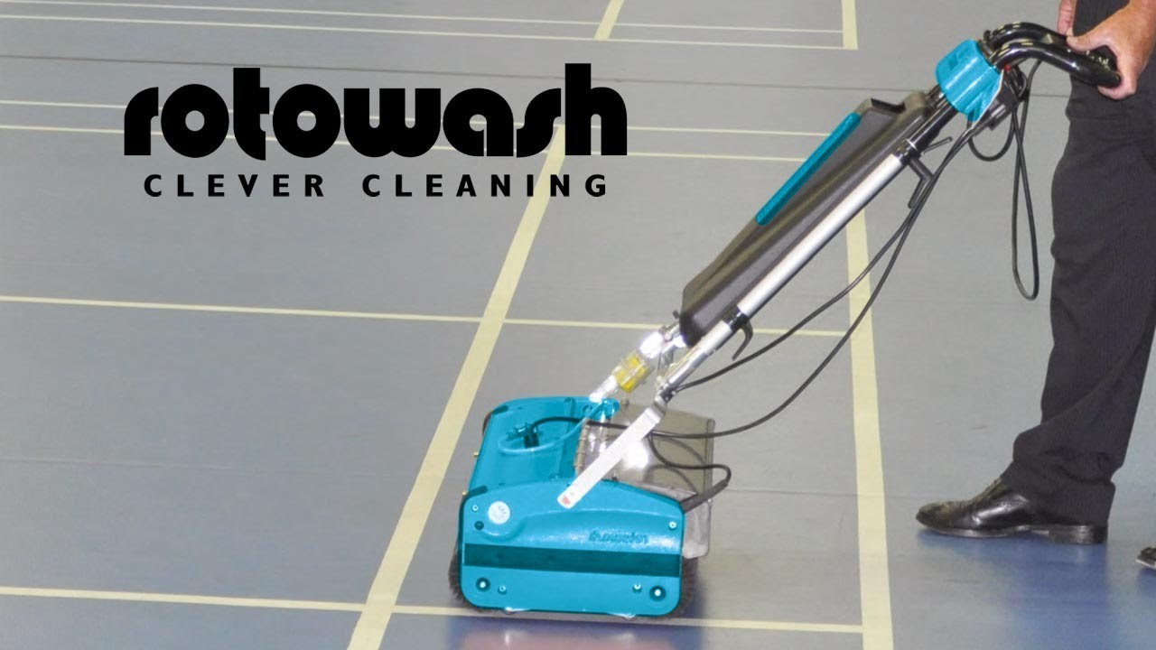 Gym Floor Cleaning Machines