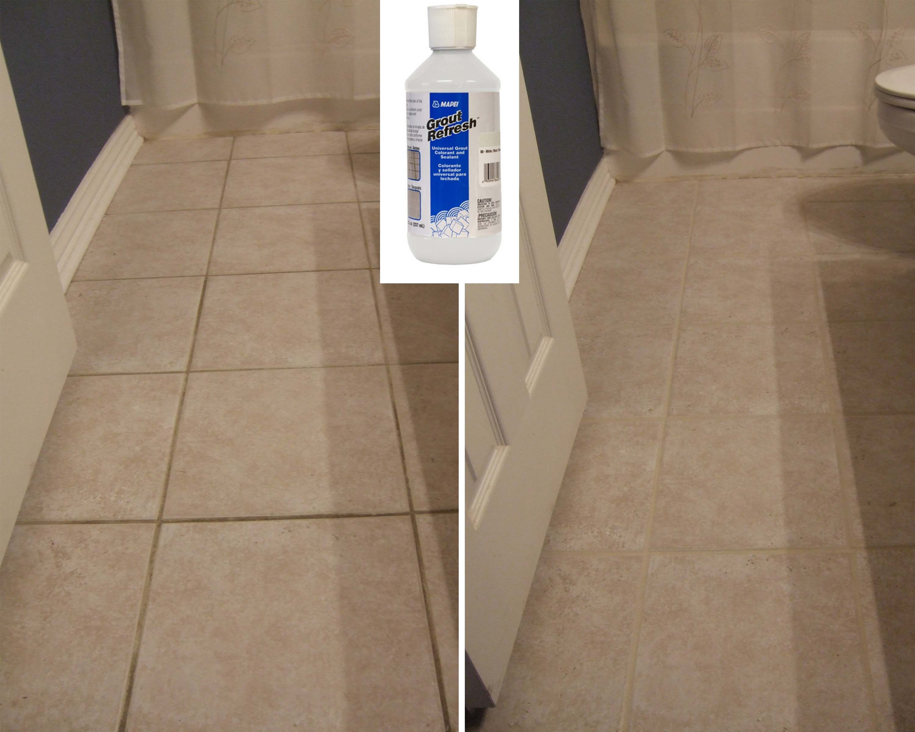 How To Clean Grout On Tile Floors With Hydrogen Peroxide