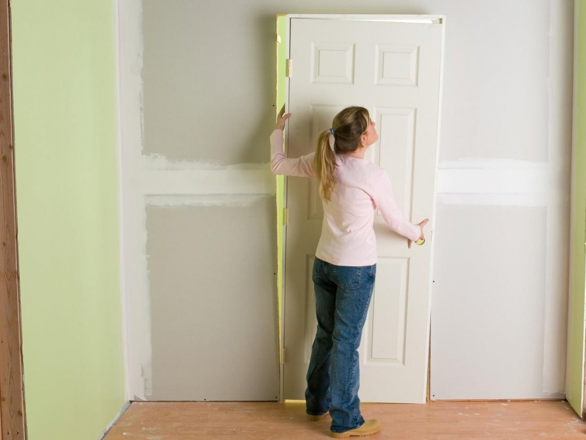 How To Install An Interior Door That Is Not Prehung