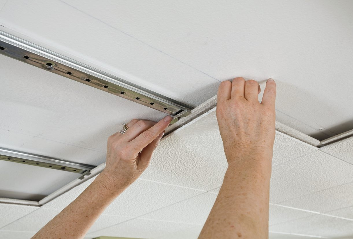 How To Install Ceiling Tiles 12x12