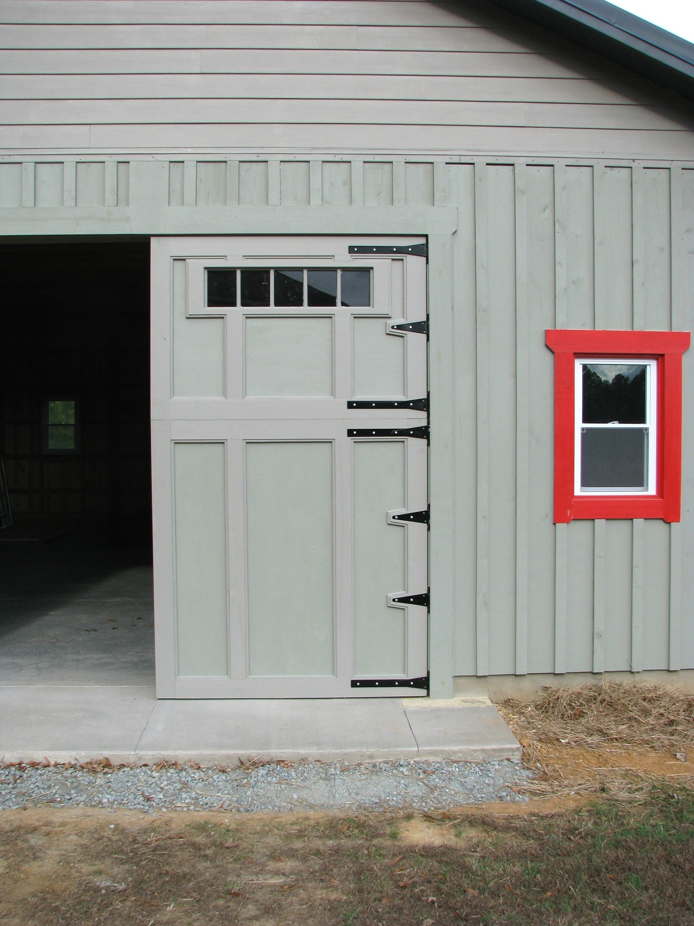How To Make A Hinged Barn Door