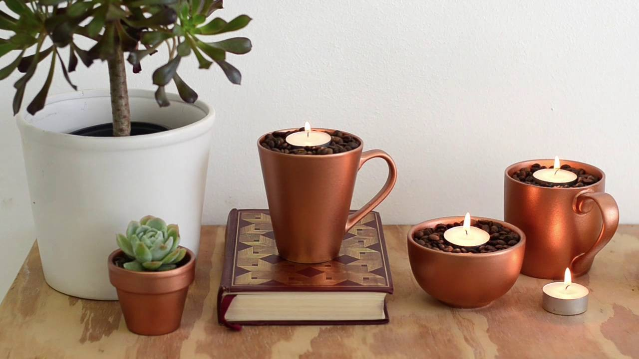 How To Make Coffee Scented Candles