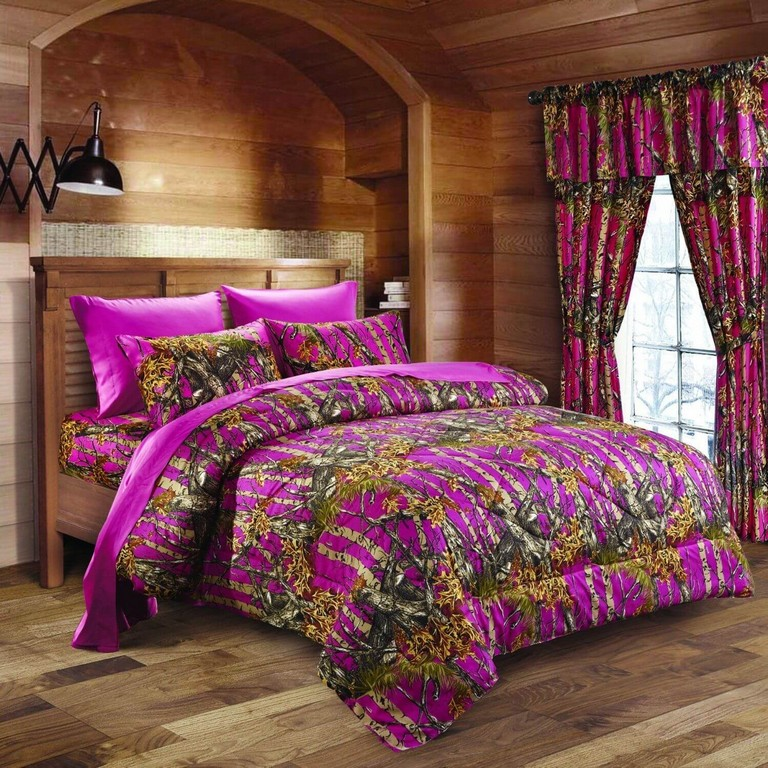 King Size Camo Bed Set