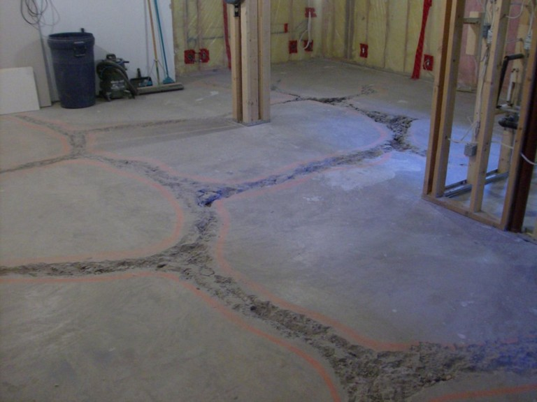 Level Basement Floor Cost