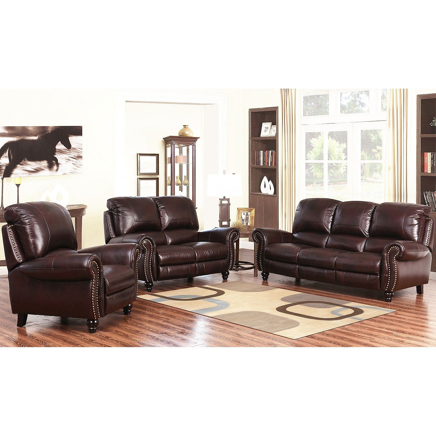 Macys Leather Sofa And Loveseat