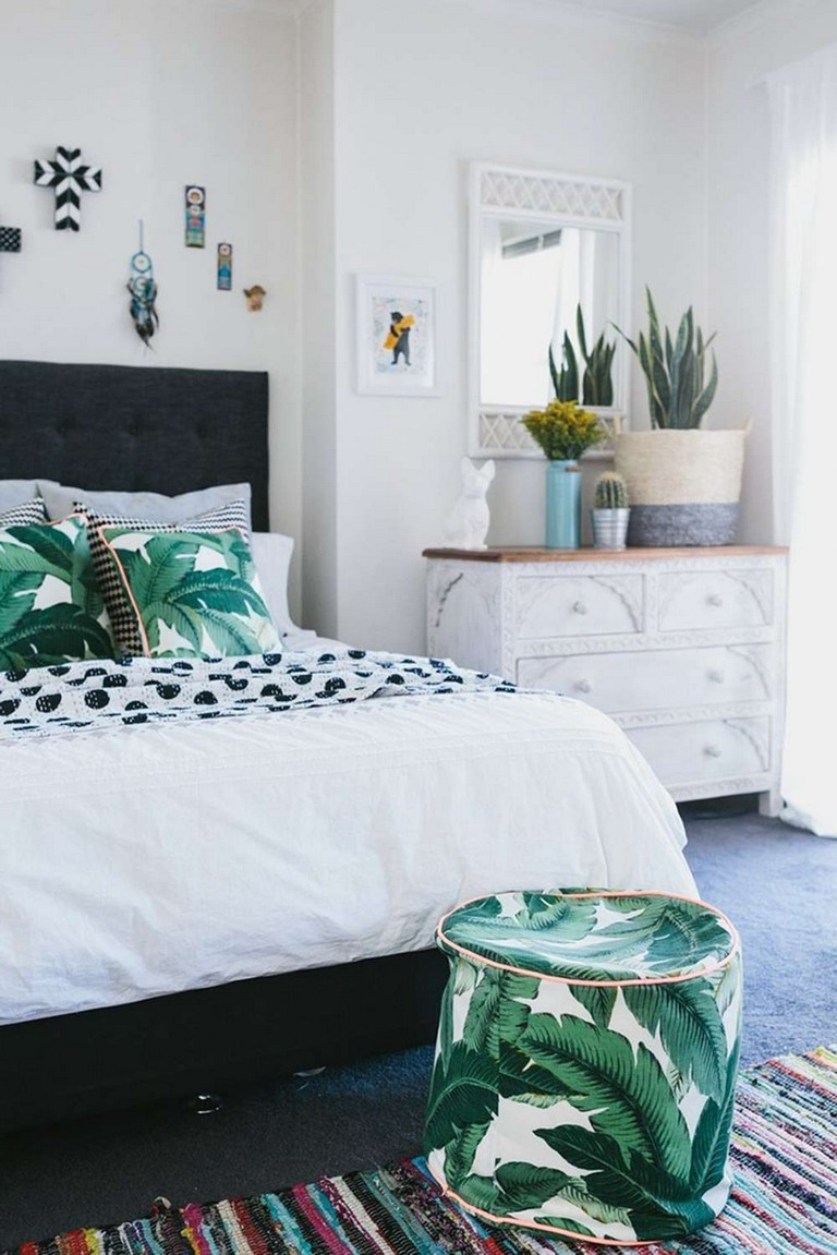 Palm Tree Decor For Bedroom