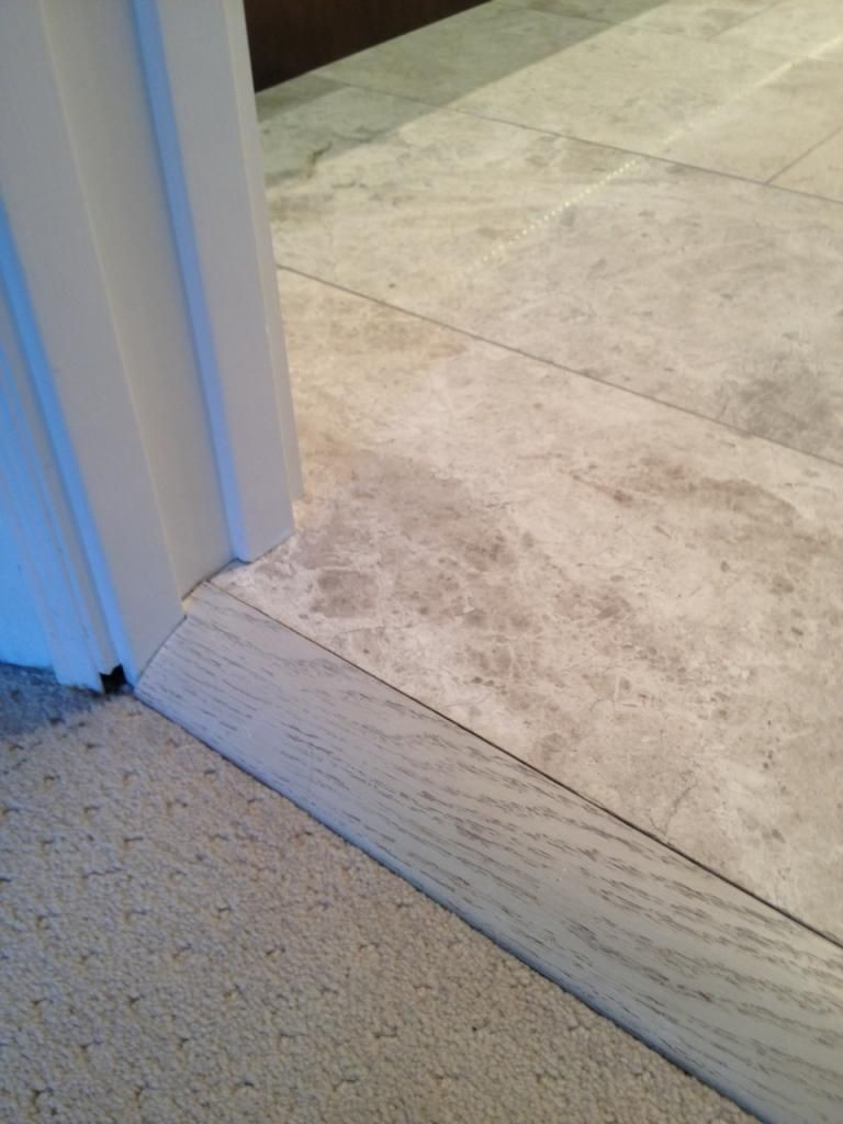 Tile To Carpet Transition Options