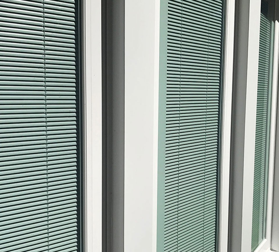 Windows With Internal Blinds