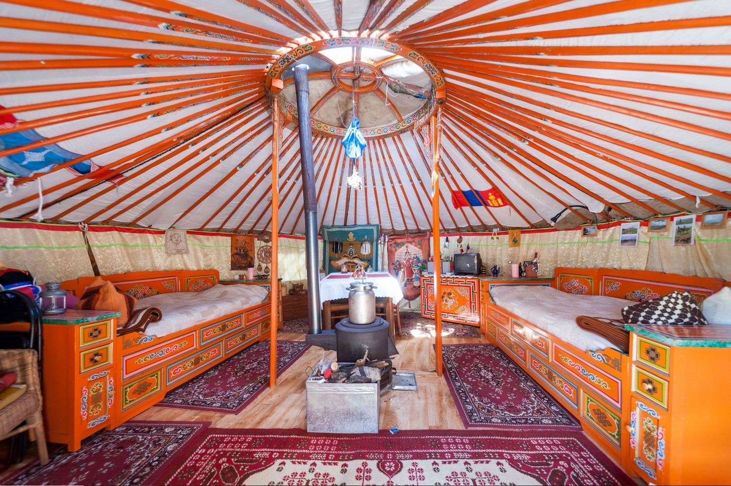 Yurt Interior Design