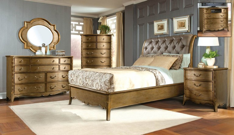 Gold Bedroom Furniture Sets