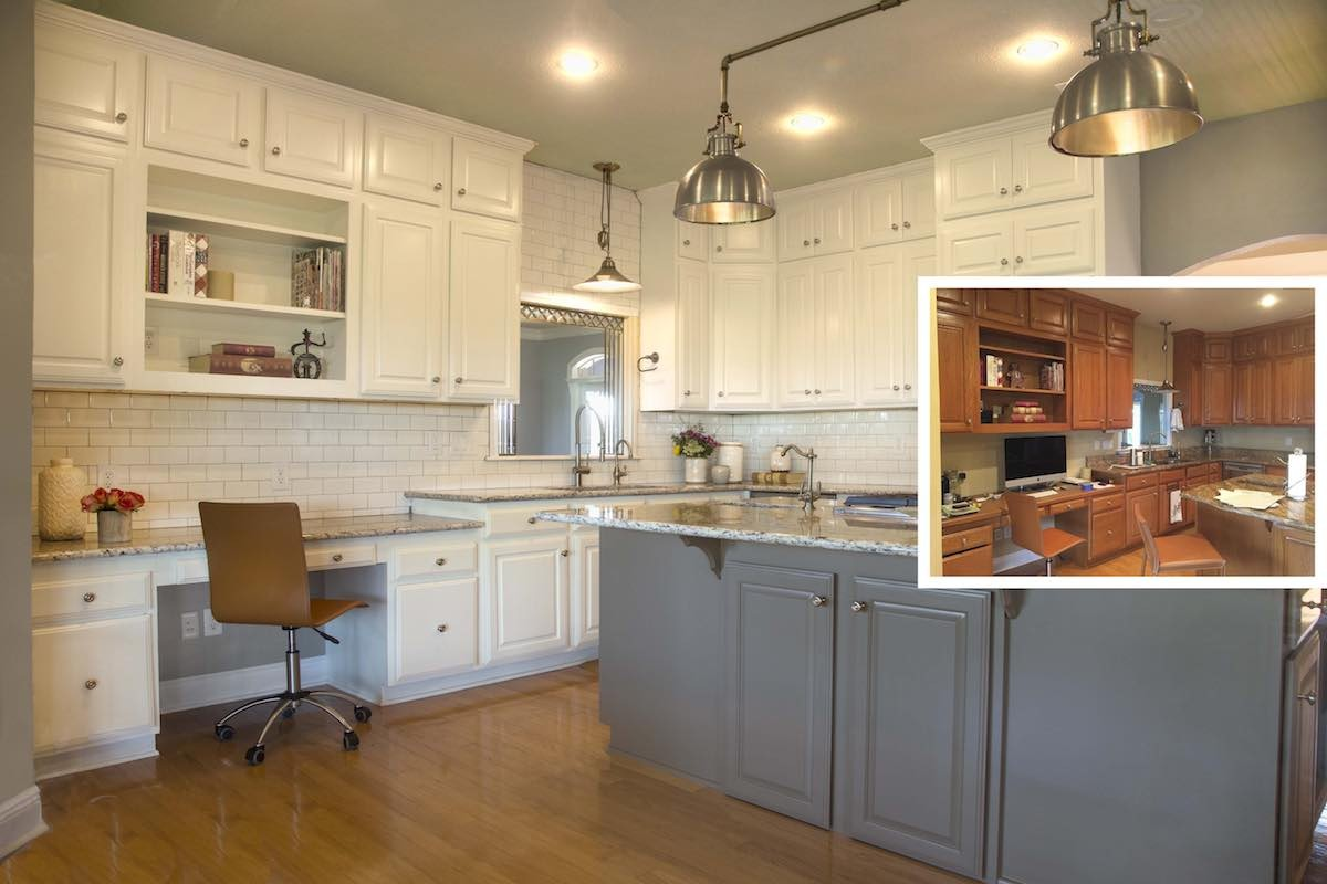 Holiday Kitchen Cabinet