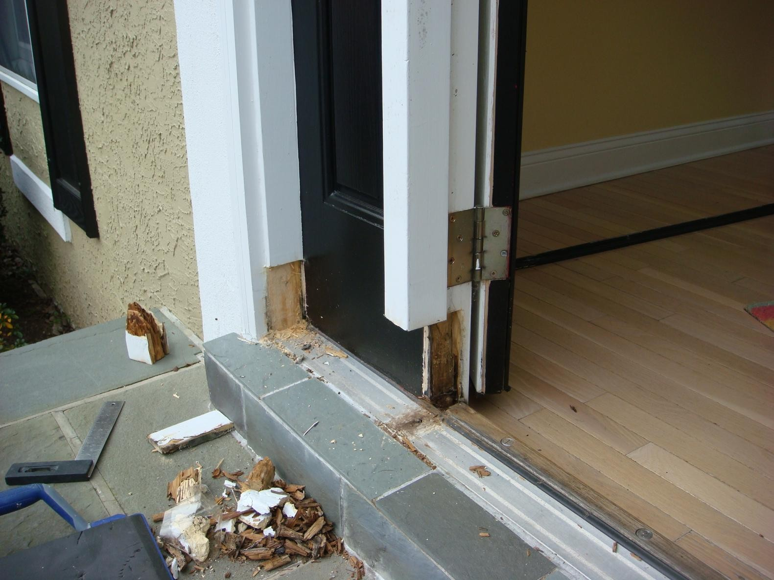 How To Repair Rotted Door Frame