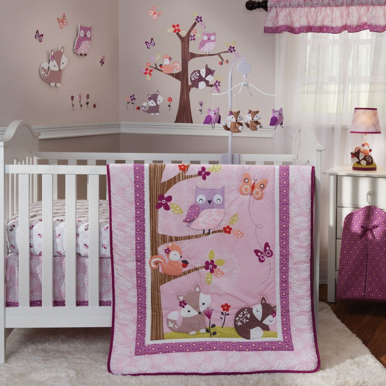 Lavender Crib Bedding Sets