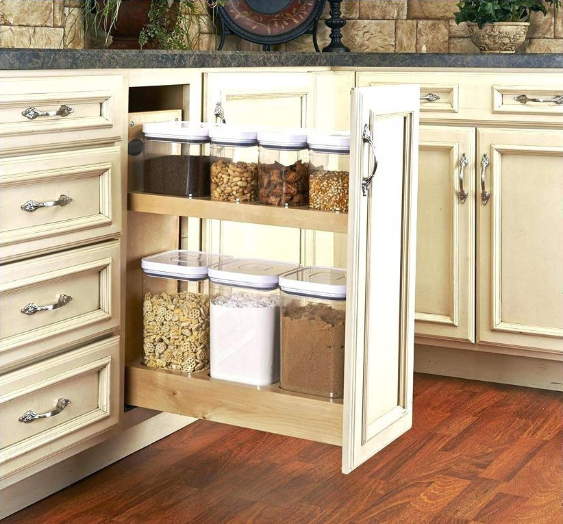 Narrow Kitchen Cabinet