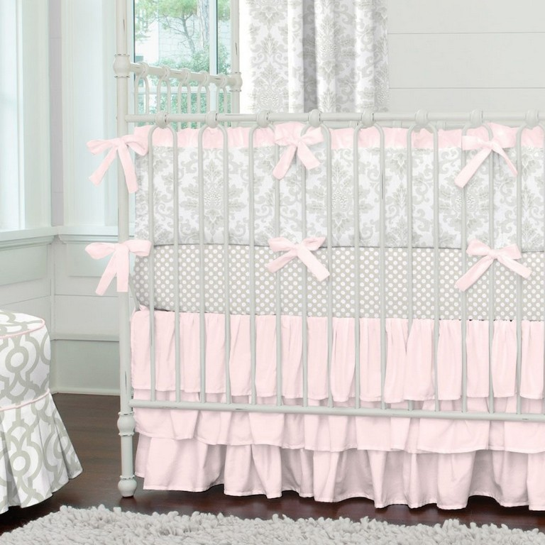 Pink And Gray Bedding Sets