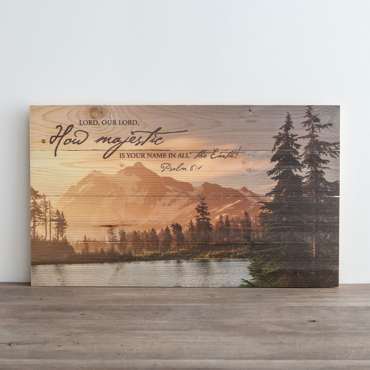 Planked Wall Art