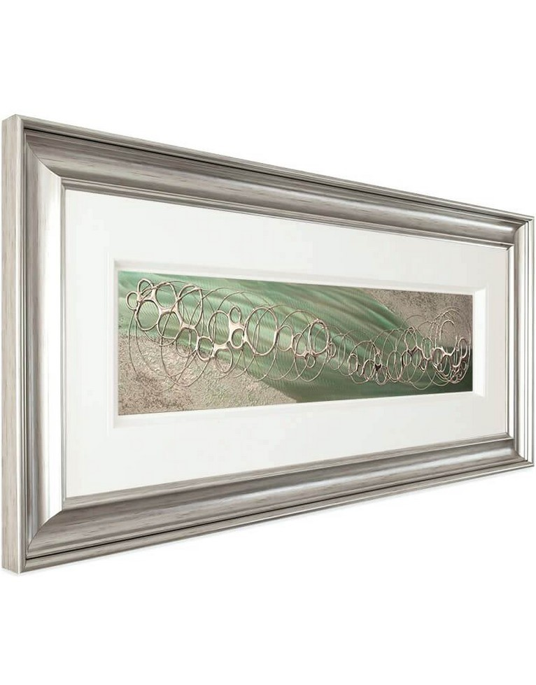 Silver Framed Wall Art