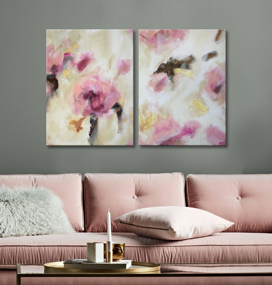 Two Piece Wall Art