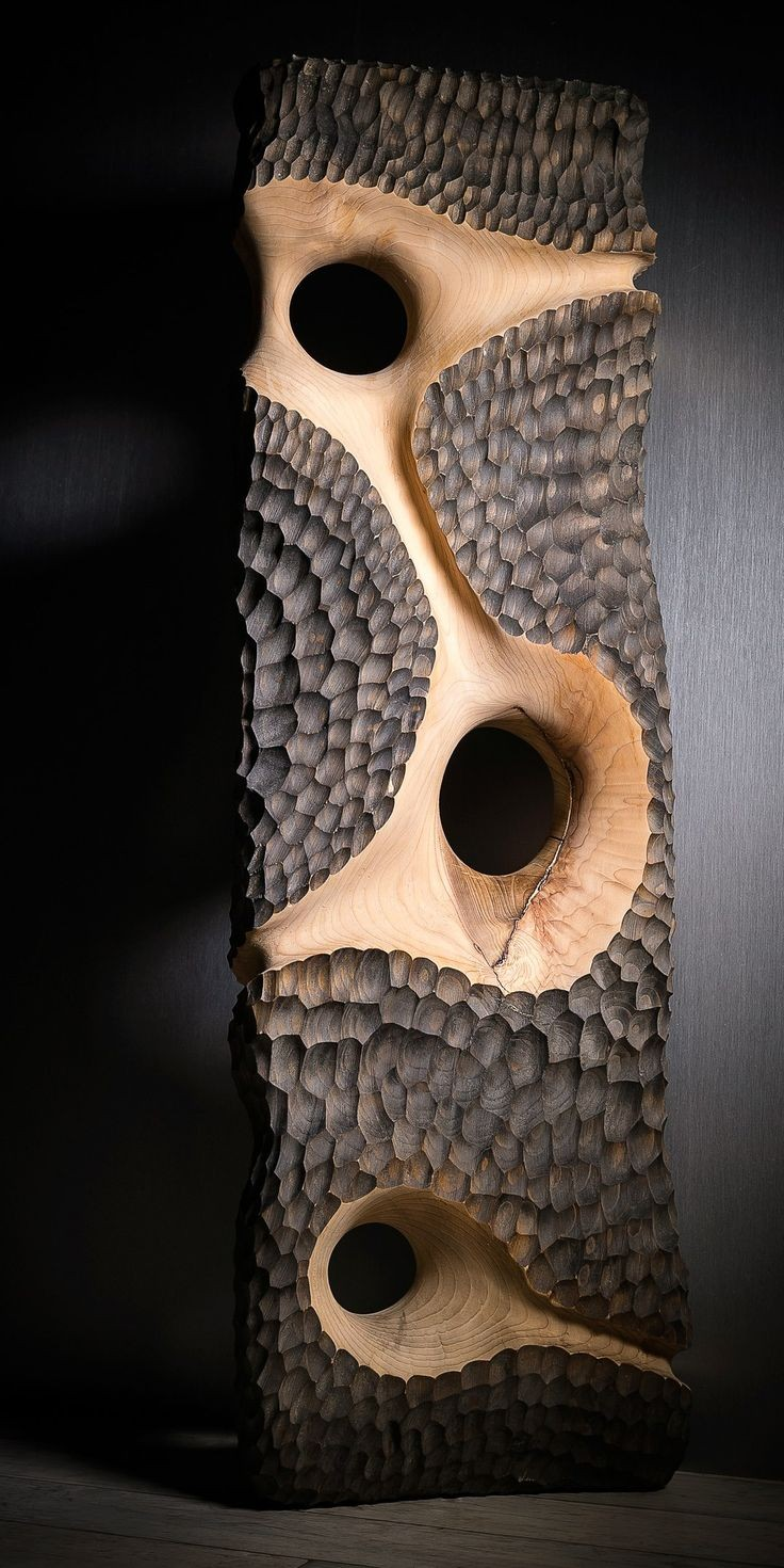 Wooden Wall Art Sculptures