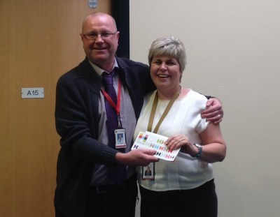 NEWS: Mr Taggart awarded for 25 years service