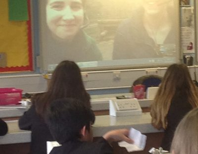 PHOTOS: Y7 Skype session with London Zoo