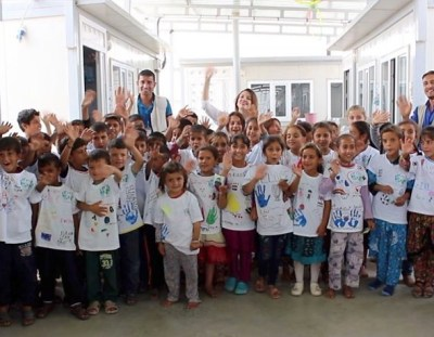 NEWS: Y7 'Lets Be Friends' t-shirts arrive in Iraq!