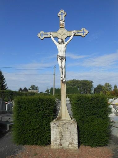 Calvaire du cimetière de Sous-le-Bois.
