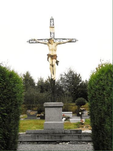 Calvaire au cimetière