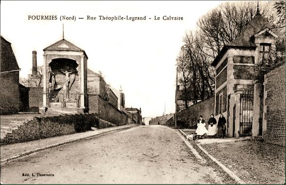 Carte postale du début du XX siècle.