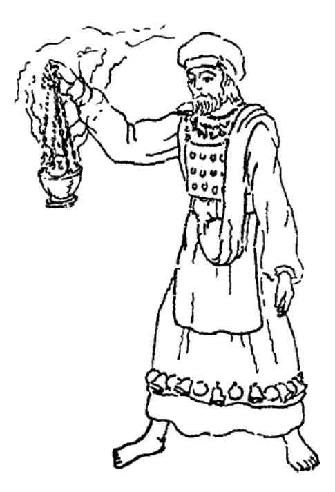 The Priest Aaron Coloring Pages Coloring Pages