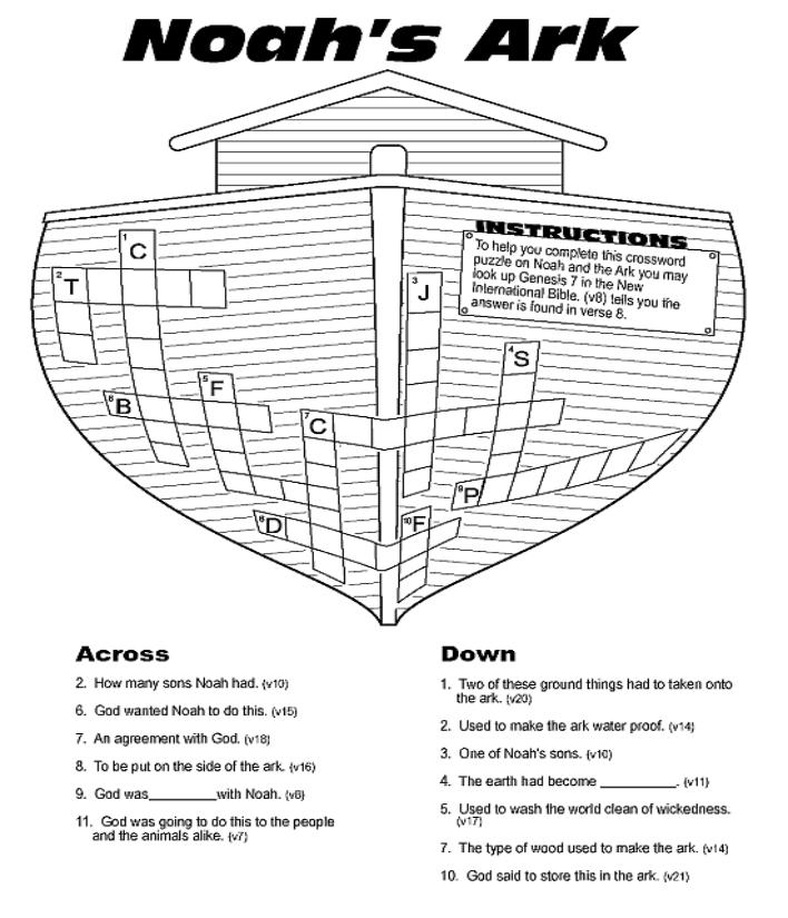 De 12 beste bildene for Noahs ark